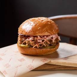 Tradition Pulled Pork Burger